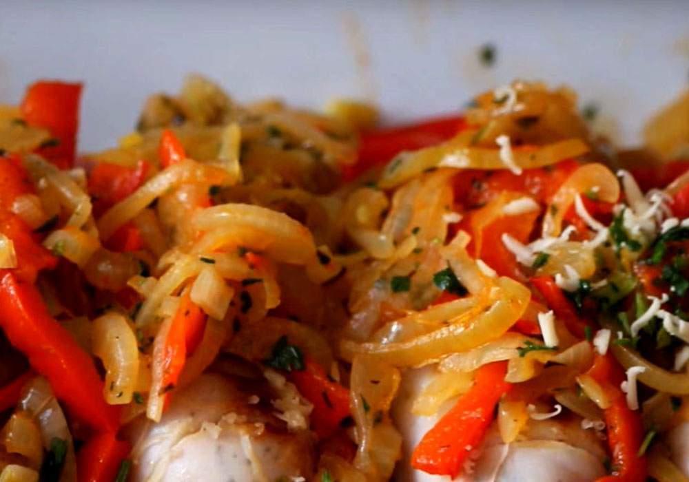 Сосиски с овощами - пошаговый рецепт, фото 1