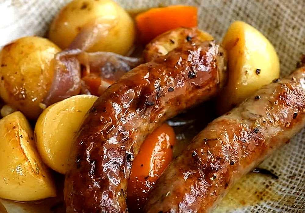 Сосиски в духовке - пошаговый рецепт, фото 1
