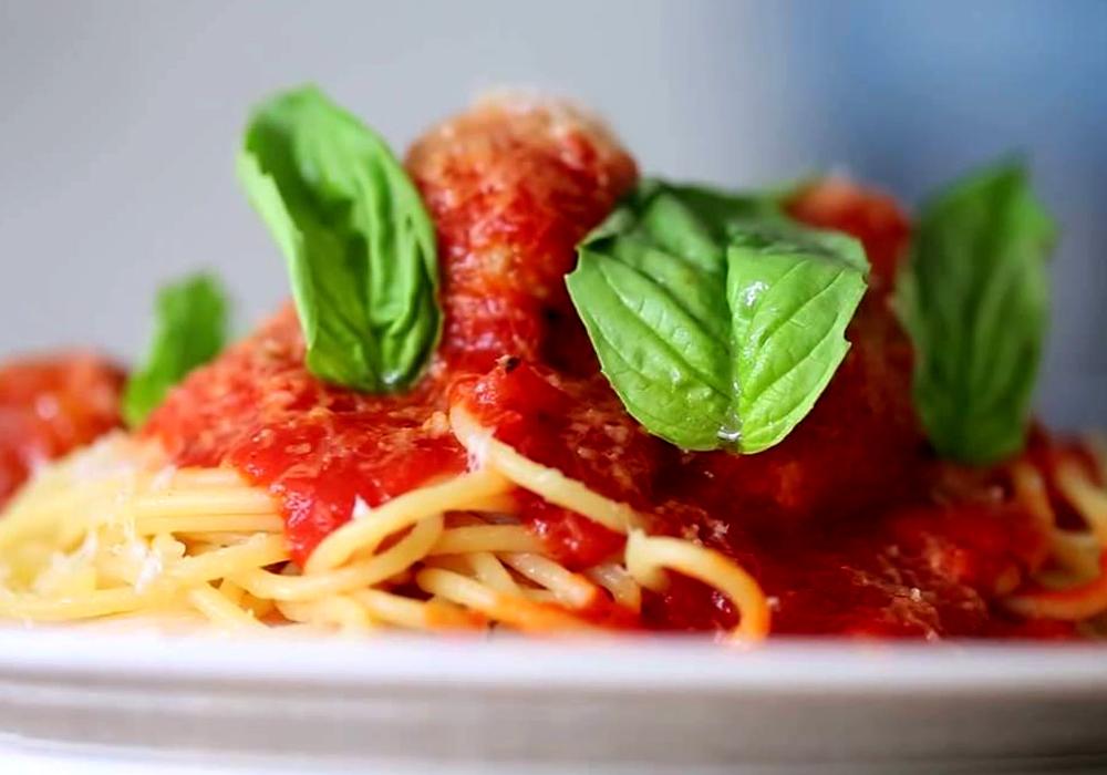 Спагеті з фрикадельками - покроковий рецепт, фото 1