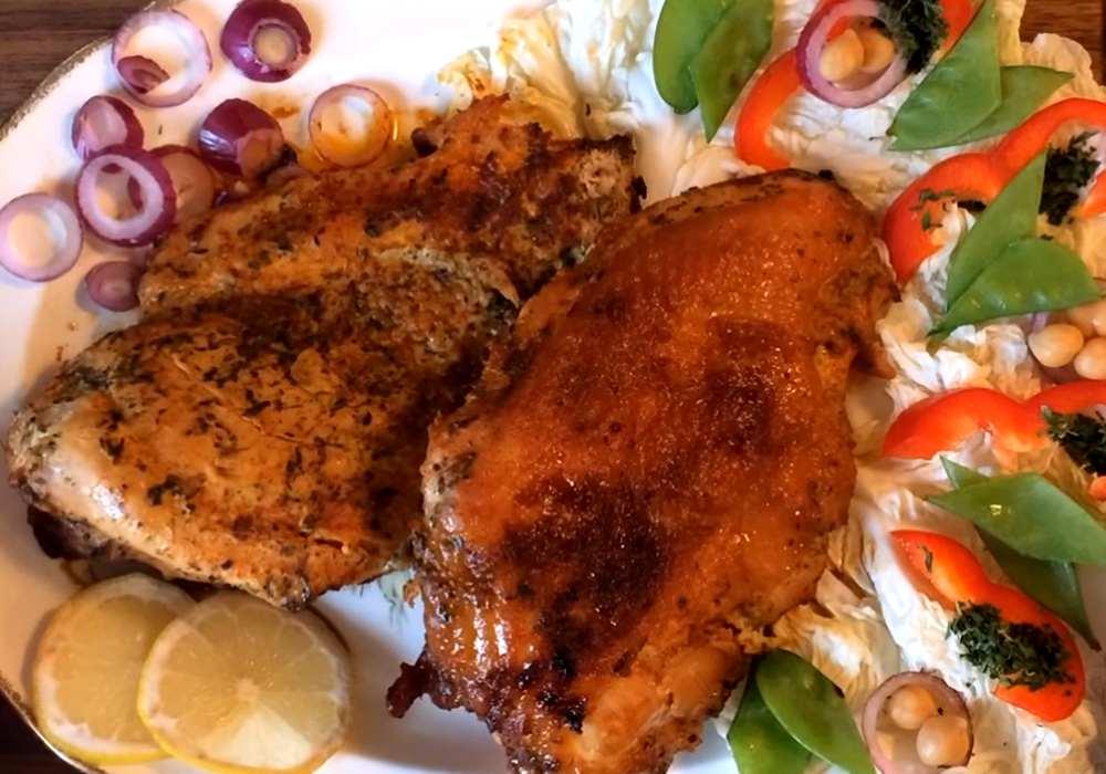 Стейк из индейки в духовке - пошаговый рецепт, фото 1