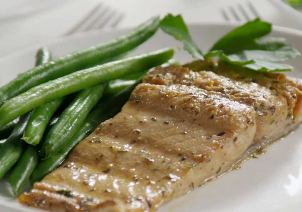 Стейк из лосося на гриле - пошаговый рецепт, фото 1