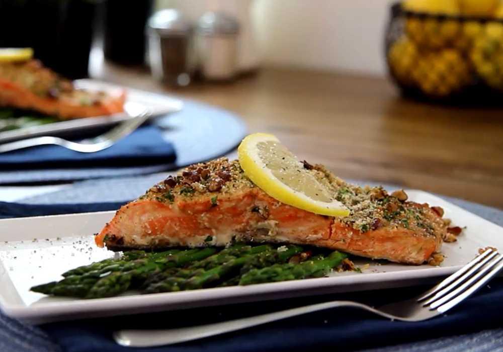 Стейк из лосося в духовке - пошаговый рецепт, фото 1