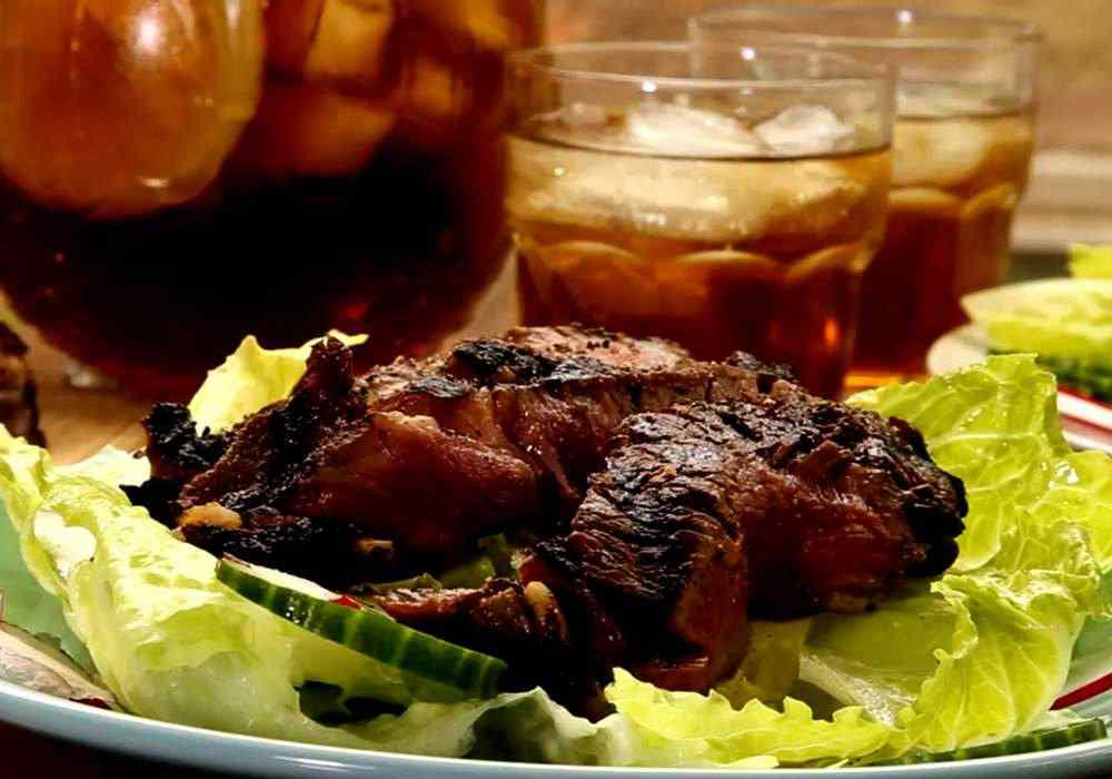 Стейк из мраморной говядины - пошаговый рецепт, фото 1