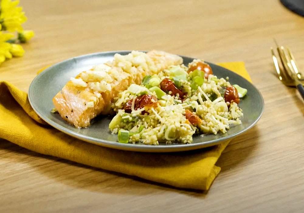 Стейк из семги в духовке - пошаговый рецепт, фото 1