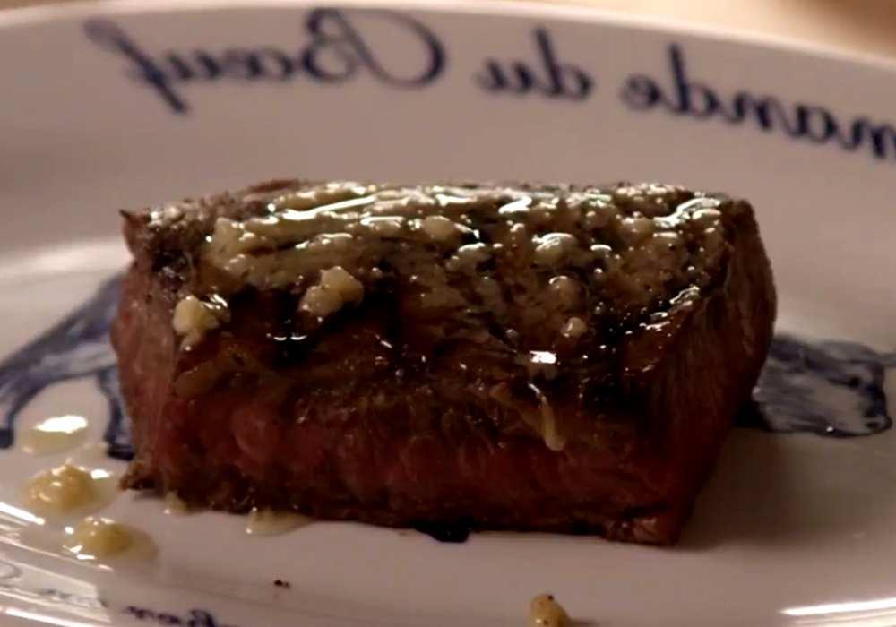 Стейк на сковороде - пошаговый рецепт, фото 1
