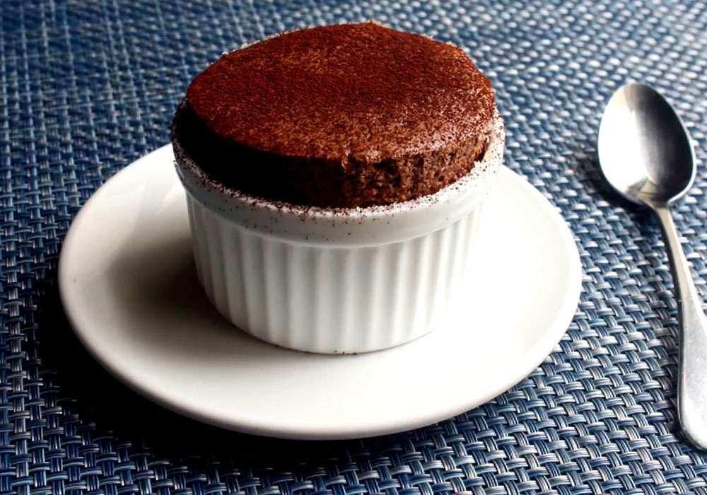 Суфле шоколадное - пошаговый рецепт, фото 1