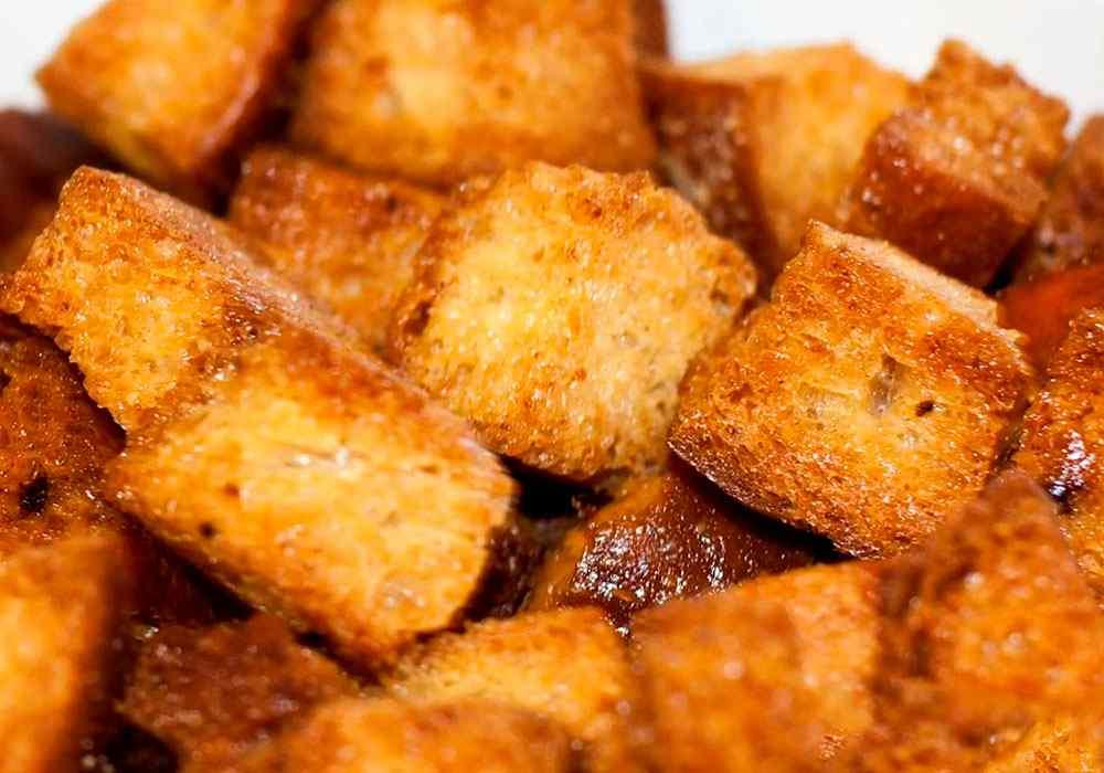 Сухарі в духовці часникові - покроковий рецепт, фото 1
