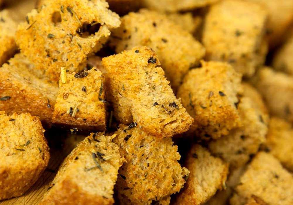 Сухари в духовке с маслом - пошаговый рецепт, фото 1