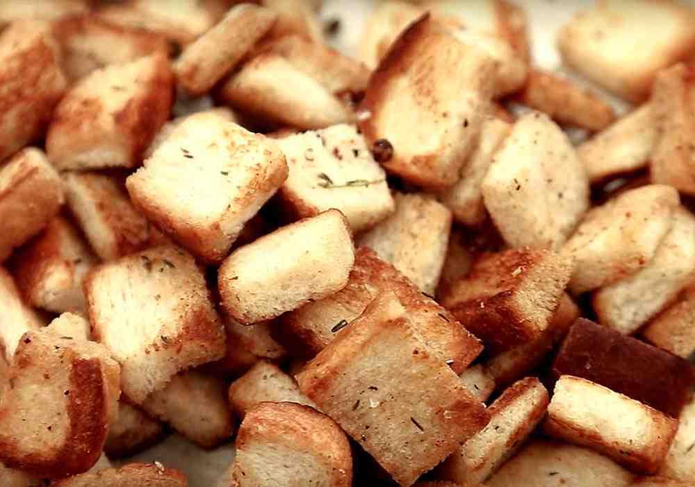 Сухари в духовке - пошаговый рецепт, фото 1