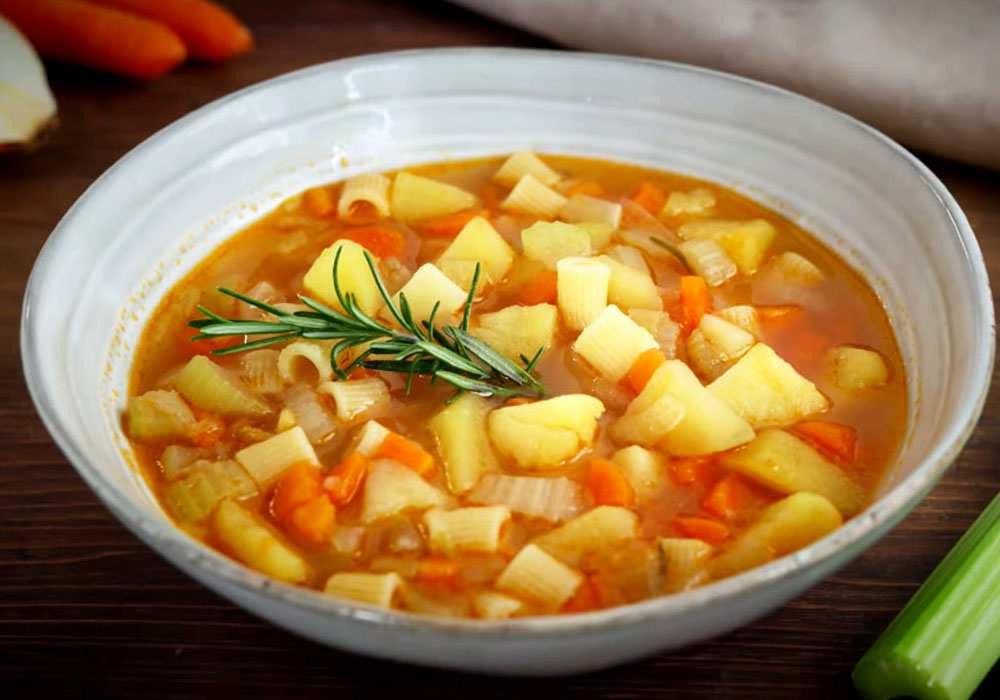 Суп без мяса - пошаговый рецепт, фото 1