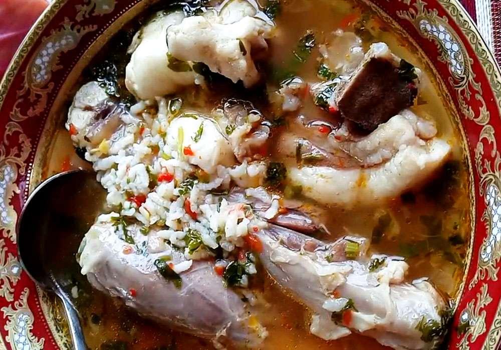 Суп харчо з рисом - покроковий рецепт, фото 1