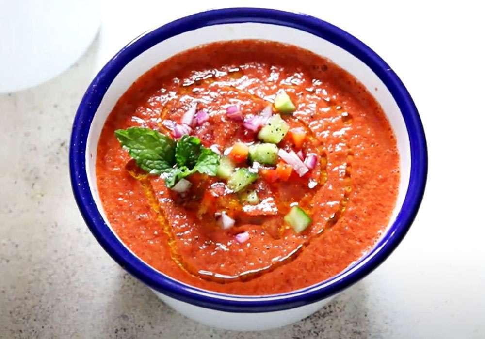 Суп гаспачо - пошаговый рецепт, фото 1
