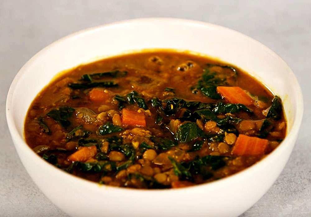 Суп из чечевицы в мультиварке - пошаговый рецепт, фото 1