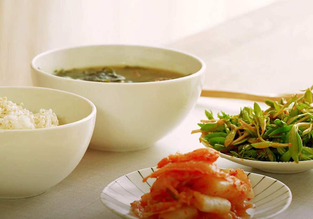 Суп из морской капусты - пошаговый рецепт, фото 1