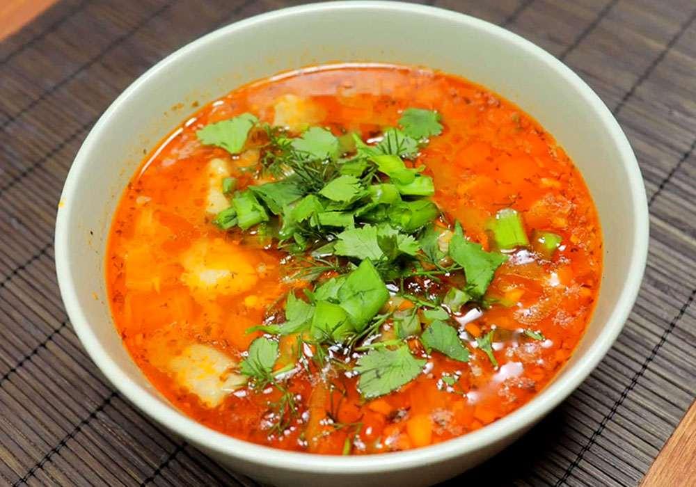Суп харчо из баранины по грузински - пошаговый рецепт, фото 1
