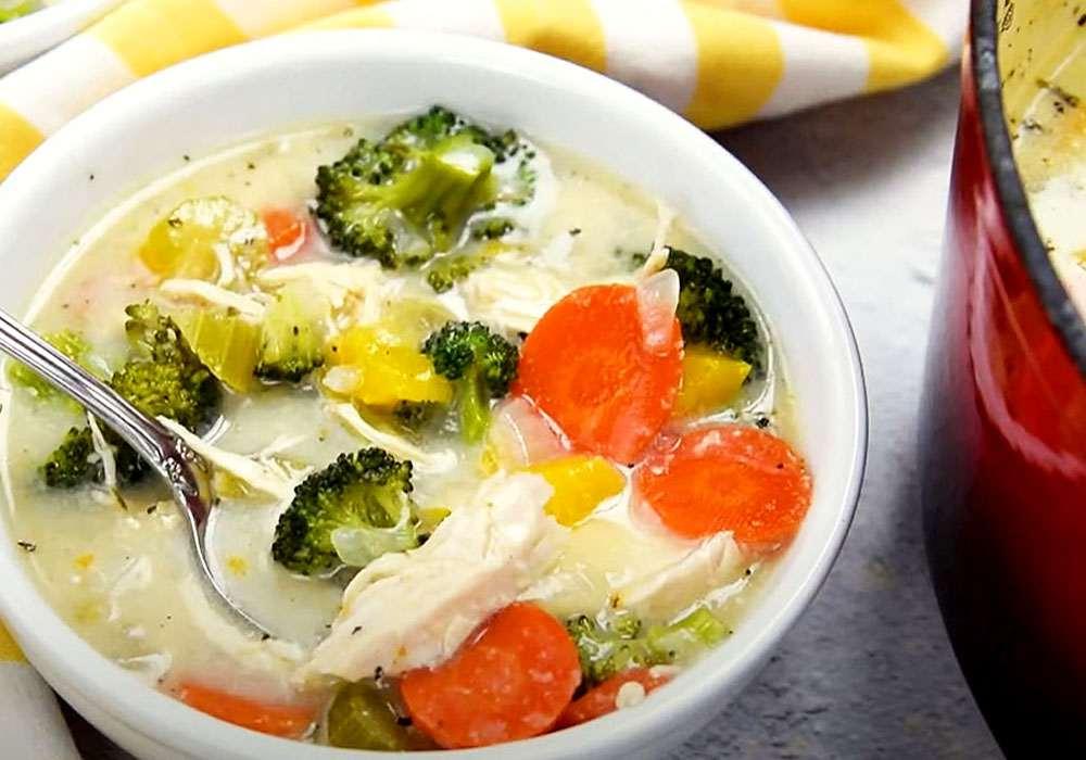 Суп курячий з брокколі - покроковий рецепт, фото 1