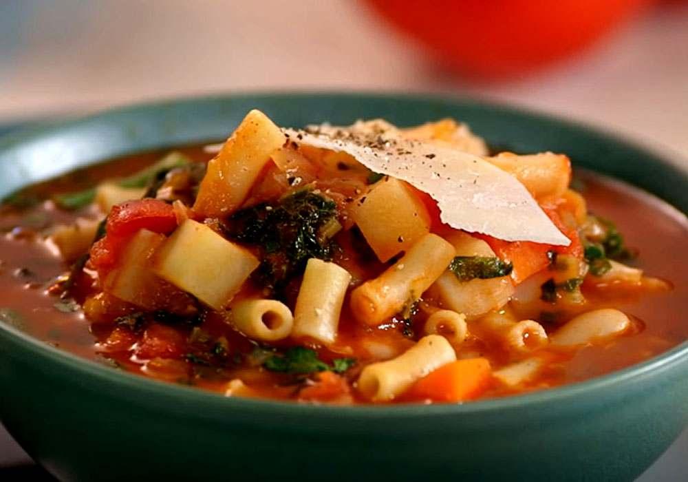 Суп мінестроне - покроковий рецепт, фото 1