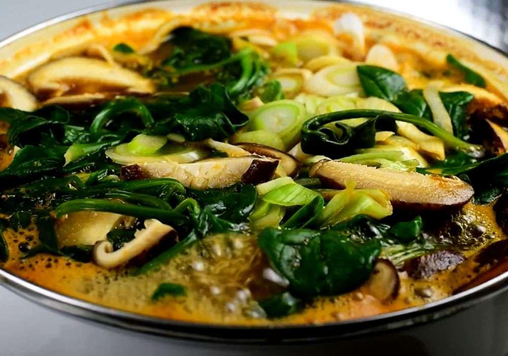 Суп місо з грибами - покроковий рецепт, фото 1