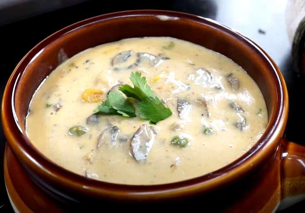 Суп пюре из грибов - пошаговый рецепт, фото 1