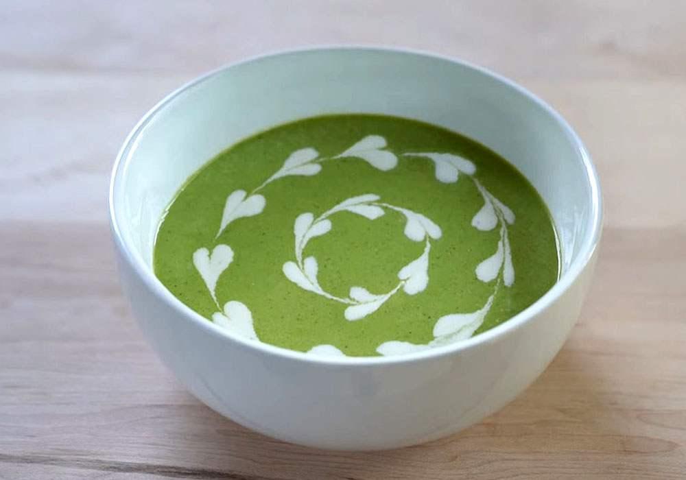 Суп пюре из брокколи - пошаговый рецепт, фото 1
