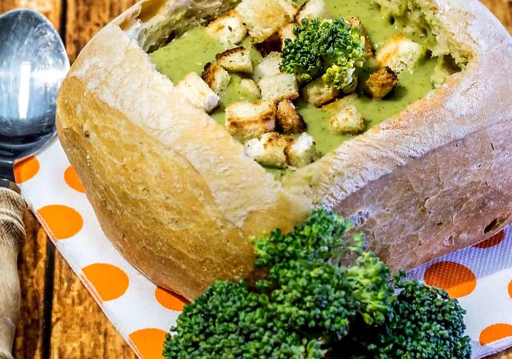 Суп-пюре из брокколи - пошаговый рецепт, фото 1