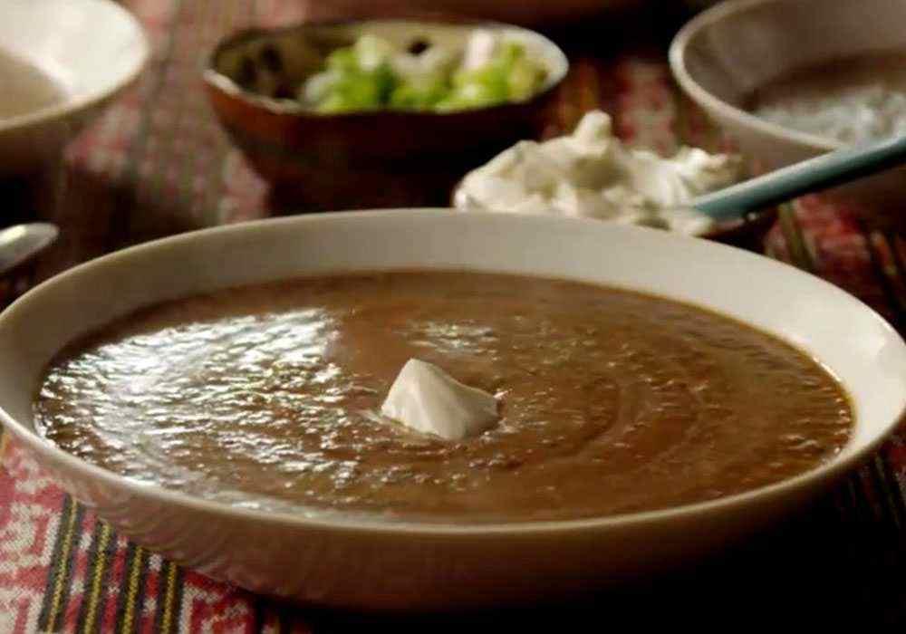 Суп пюре з квасолі - покроковий рецепт, фото 1