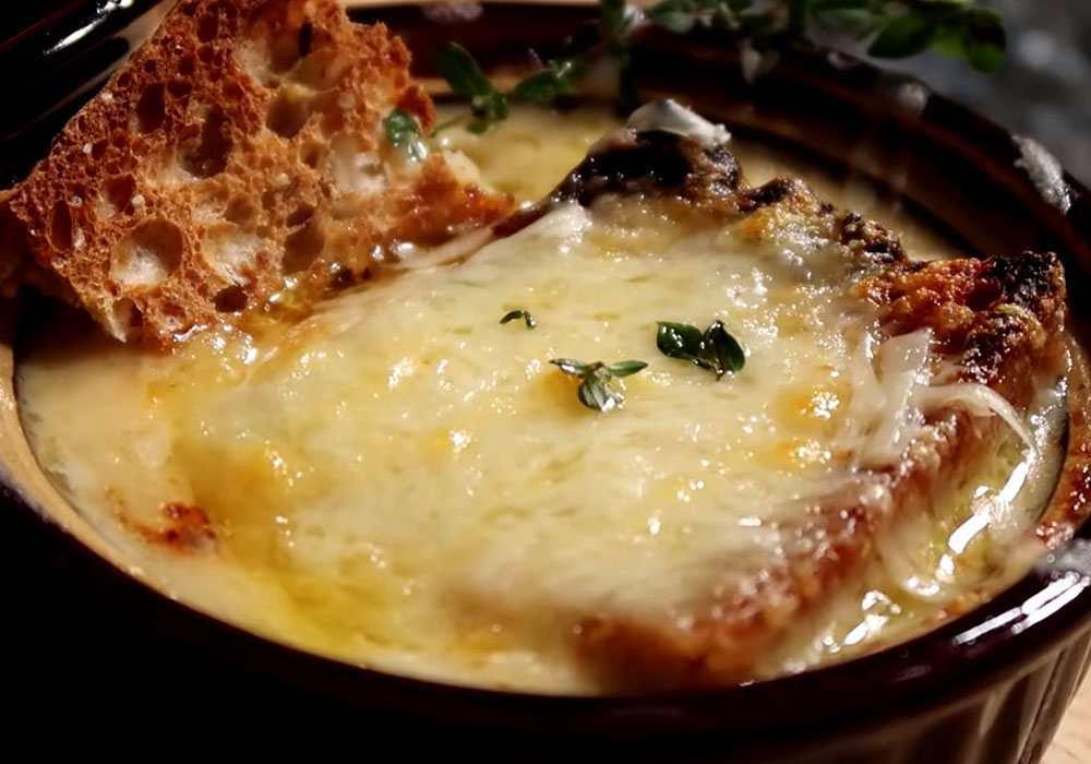 Суп пюре из лука - пошаговый рецепт, фото 1