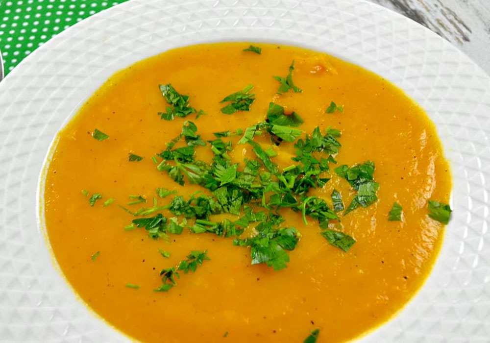 Суп пюре из моркови - пошаговый рецепт, фото 1
