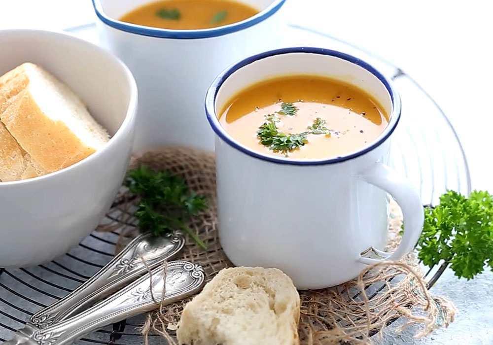 Суп-пюре из тыквы в мультиварке - пошаговый рецепт, фото 1