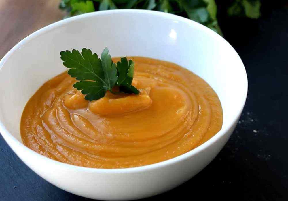 Суп пюре из тыквы - пошаговый рецепт, фото 1