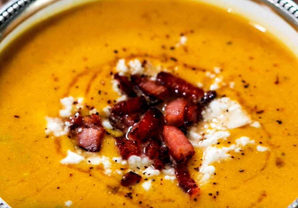 Суп-пюре гарбузовий з каррі - покроковий рецепт, фото 1