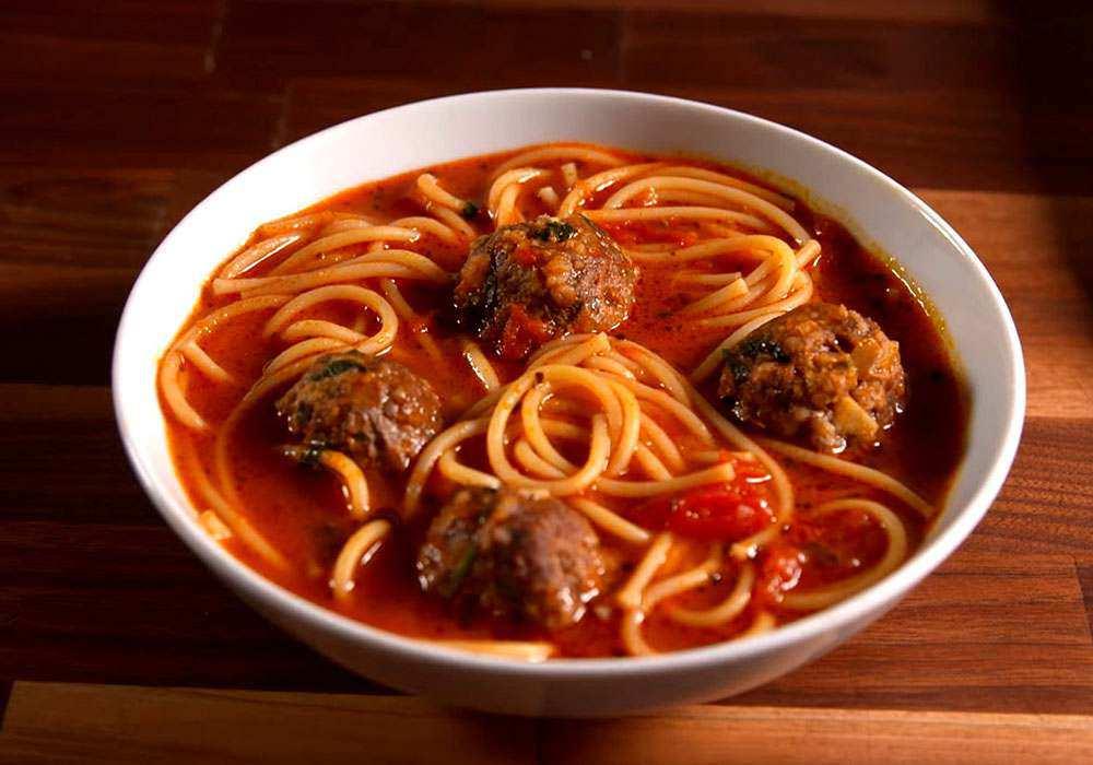 Суп з фрикадельками та локшиною - покроковий рецепт, фото 1