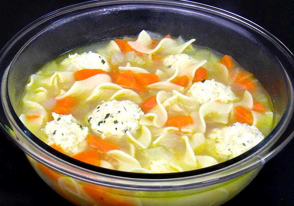 Суп с фрикадельками из куриного фарша - пошаговый рецепт, фото 1