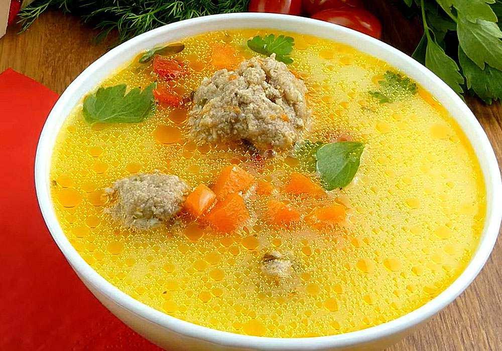 Суп з фрикадельками - покроковий рецепт, фото 1
