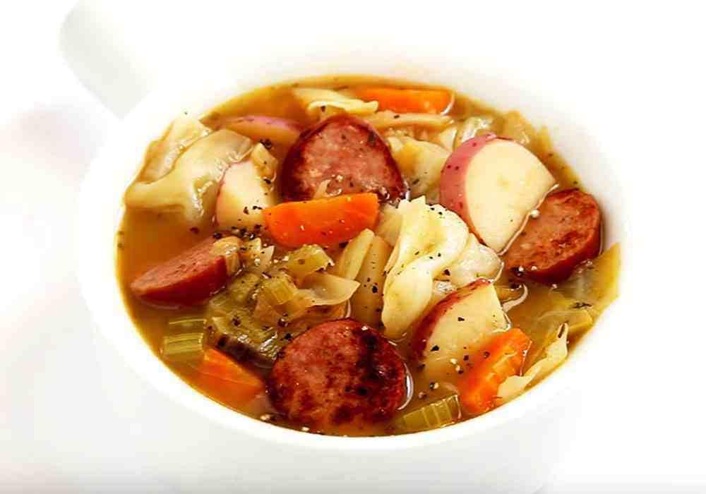 Суп с капустой и картошкой - пошаговый рецепт, фото 1