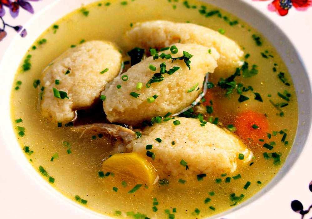 Суп с клецками - пошаговый рецепт, фото 1