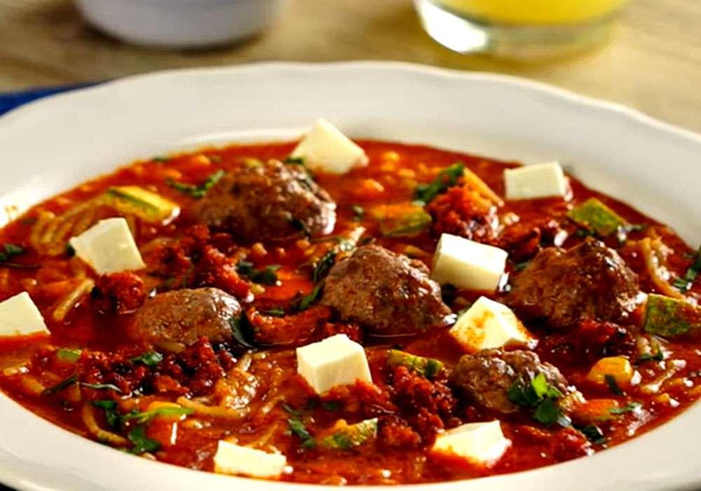 Суп з тефтельками і вермішеллю - покроковий рецепт, фото 1
