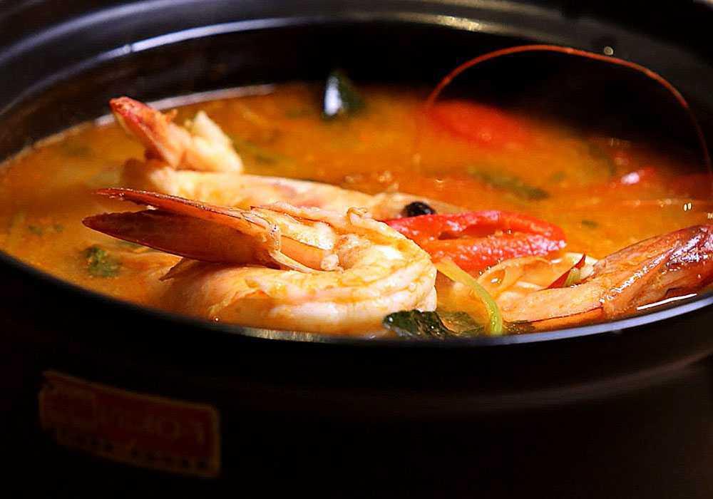 Суп том ям с креветками - пошаговый рецепт, фото 1