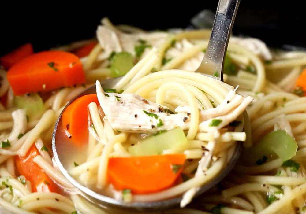 Куриный суп с вермишелью в мультиварке - пошаговый рецепт, фото 1