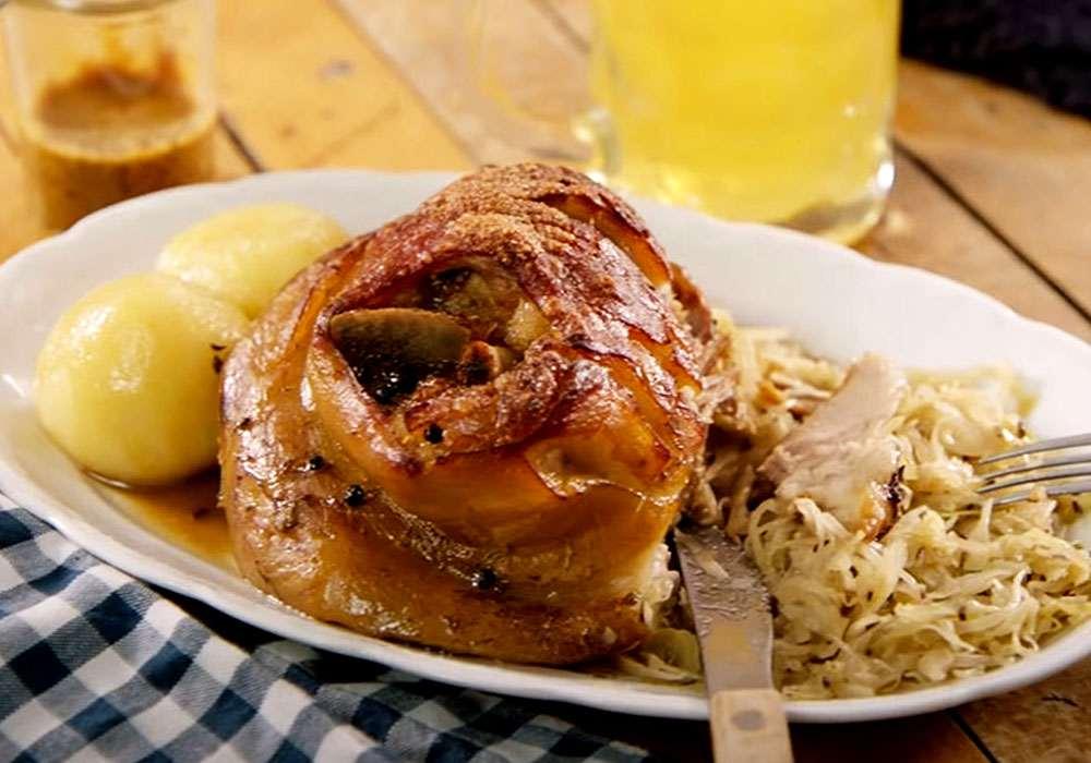 Свиная рулька в пиве запеченная в духовке - пошаговый рецепт, фото 1