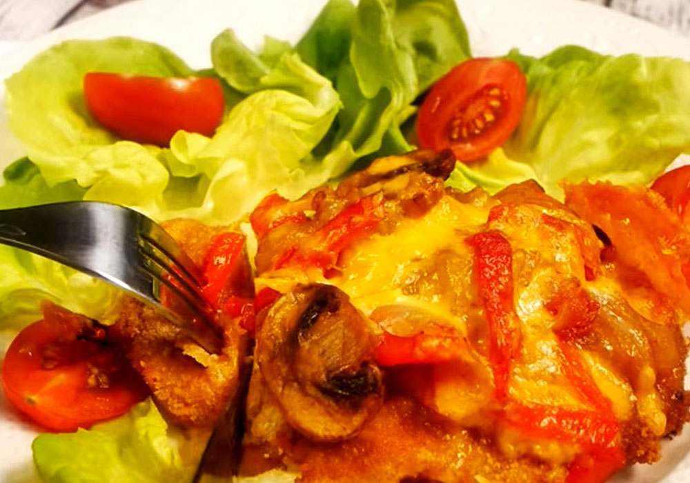 Свиные отбивные с овощами - пошаговый рецепт, фото 1