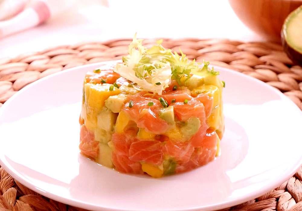 Тартар з лосося - покроковий рецепт, фото 1