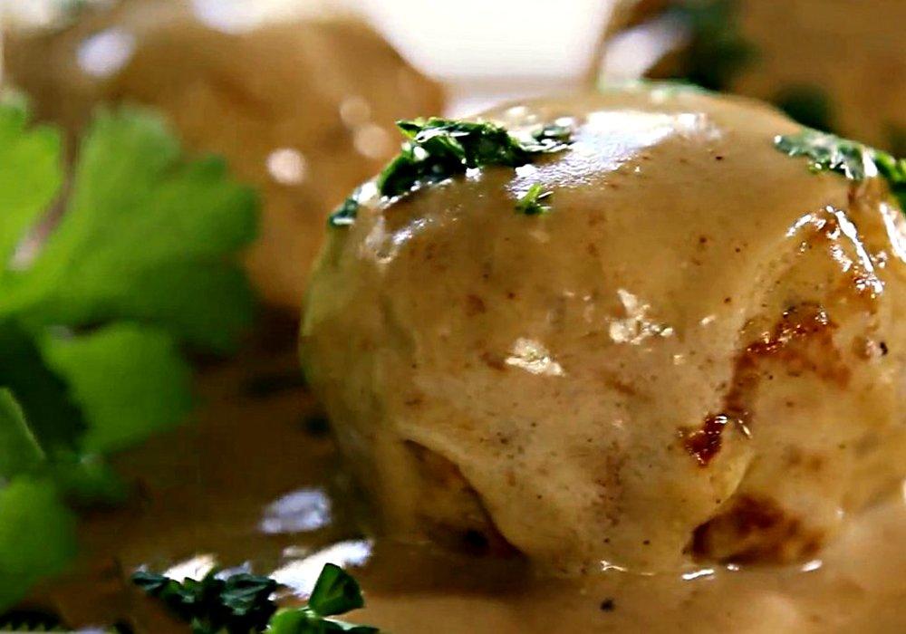 Тефтелі у вершковому соусі - покроковий рецепт, фото 1