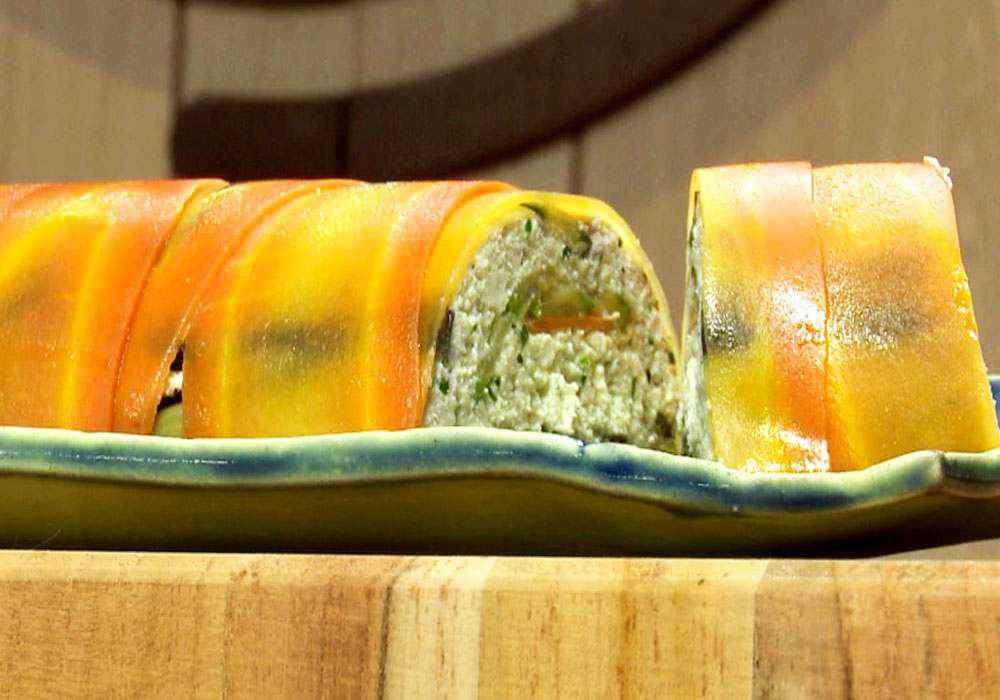 Террин из баклажанов - пошаговый рецепт, фото 1