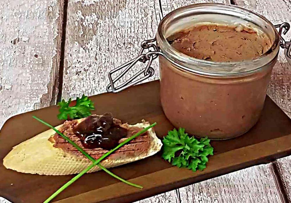 Террин из куриной печени - пошаговый рецепт, фото 1