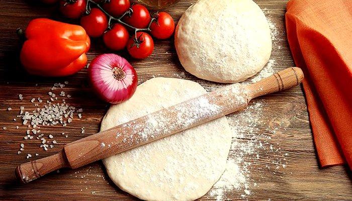Тесто для пиццы - пошаговый рецепт, фото 1