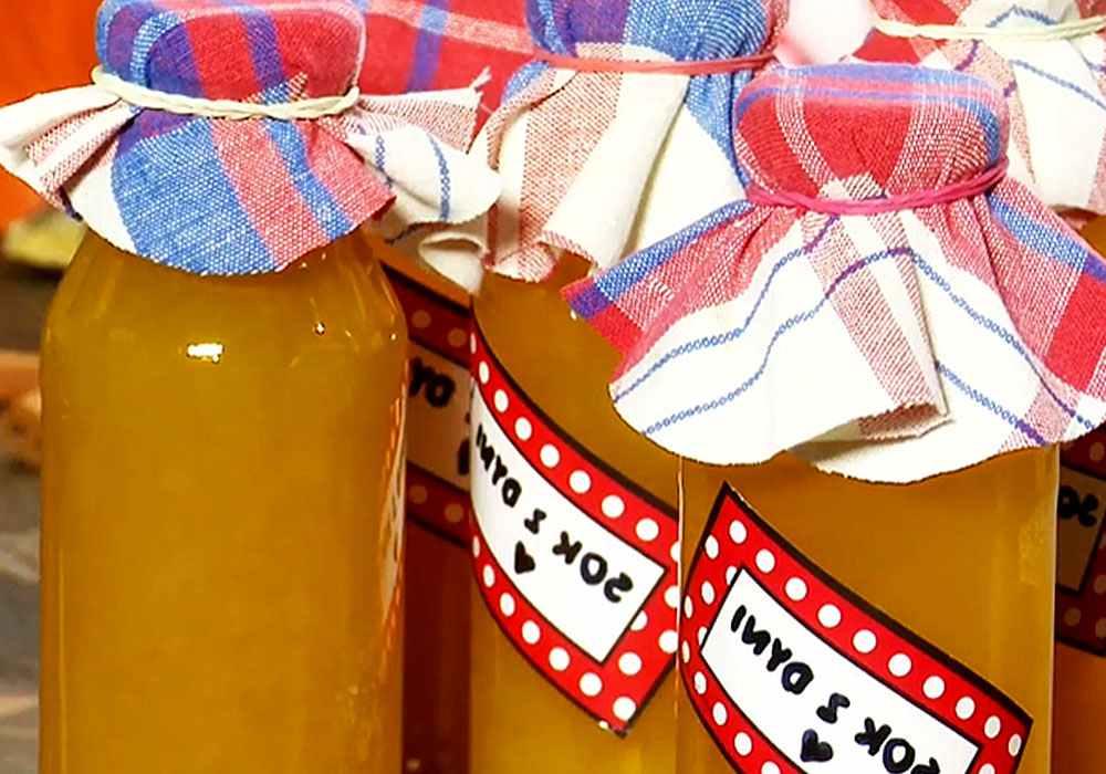 Тыквенный сок с мякотью на зиму - пошаговый рецепт, фото 1