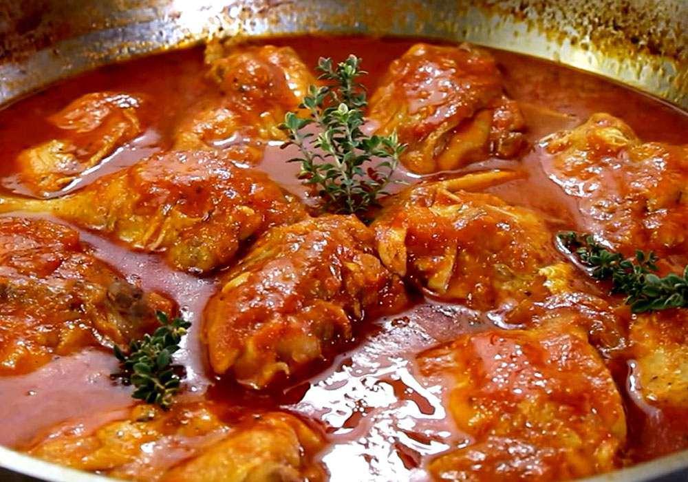 Томатний соус для курки - покроковий рецепт, фото 1