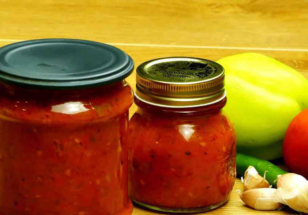 Томатний соус на зиму - покроковий рецепт, фото 1