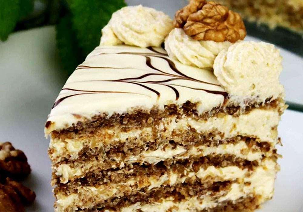 Торт Эстерхази - пошаговый рецепт, фото 1